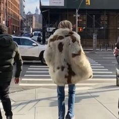 """Cecilia Bonstrom (@ceciliabonstrom) posted on Instagram: """"#my#favourite#fakefur#coat @zadigetvoltaire #nyc#flashback#kiss @estellechemouny"""" • Dec 12, 2020 at 4:13pm UTC Dec 12, The 4, Fur Coat, Kiss, Nyc, Instagram, Fur Coats, Kisses, Fur Collar Coat"""