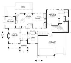 House Plans Built In Cabinets And Covered Porches On Pinterest