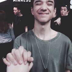Daniel looks adorable then we have Jack in the background  - @seaveydaniel -