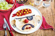 Pirate pancake face recipe