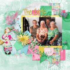 Pop of Life 2 12x12 Layout Templates