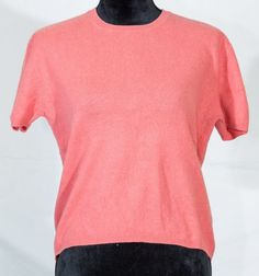 Cashmere women short sleeve sweater size L/Large #Finesttwo #Sweater
