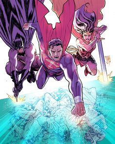 Trinity by Francis Manapul - Visit to grab an amazing super hero shirt now on sale!