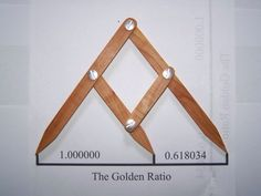 Golden Ratio: Referred to as the divine proportion, golden mean or golden section: is the number often encountered wen taking the ratio of distances in simple geometric figures such as the pentagon, pentagram, decagon and dodecahedron.  It is exactly equl to (1+Ö5)/2 If you divide a line into two parts to that the longer part divided by the smaller is equal to the whole length deivided by the longer part, then you will have the Golden Ratio. Image: Fibonacci gauge