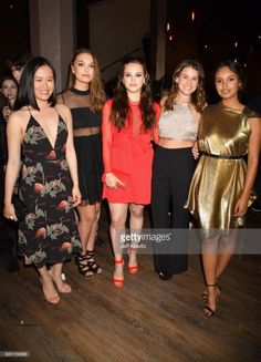 May 7: Katherine and the '13 Reasons Why' cast backstage at the 2017 MTV Movie and TV Awards at the Shrine Auditorium in Los Angeles