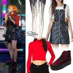 19d6c9f292f7c1 Hayley Williams  Good Morning America Outfit Hayley Williams Style