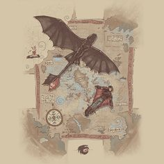 How to Train Your Dragon - T-Shirt