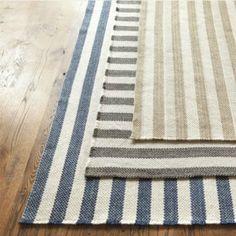 Vineyard Stripe Rug - traditional - rugs - Ballard Designs