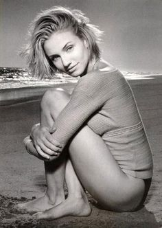 Before Acting Cameron Diaz has modelled for designers such as Calvin Klein and Levi's.
