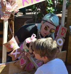Pug Kissing Booth for Valentine's Day 2015 #SanDiego #OldTown
