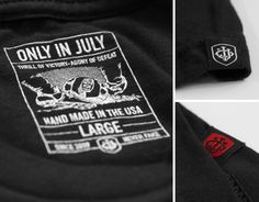Only In July Premium Tees... Details.