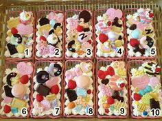 Sweet deco case iPhone 4/4s Hard Case Polymer clay by SweetieTiny, $15.99