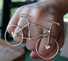 I want to wear my bicycle!  #jewellery #ring