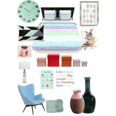Kattys room by kat13evers on Polyvore featuring polyvore, interior, interiors, interior design, home, home decor, interior decorating, Pastel, Surya, Pols Potten, Karlsson, PTM Images, New Rustics and Imm Living