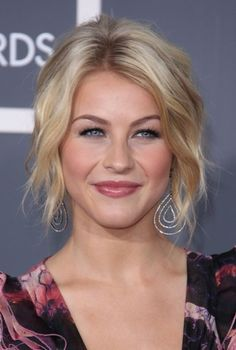 Julianne Hough shines with sexy, blonde hairstyle