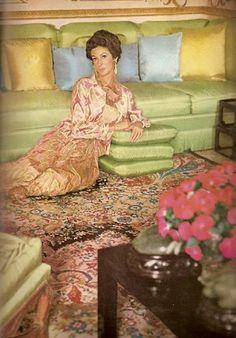 Marella Agnelli in Vogue, October, 1967