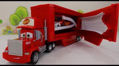 Mack Truck Transformer. Desempacando el juguete de Disney Pixar the Cars...