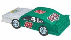 ShindigZ NASCAR Stock Car Pinata with Pull String Kit by Shindigz. $12.99. Stock Car Pinata Squeal your tires for this revved-up race car pinata! Each Stock Car Pinata measures 12 inches x 18 inches and is made of paper mache. Filler sold separately. Pull-String Kit is included. Pinata Filler Our 2 lb. bag of Pinata Filler contains 1.4 lb. of candy and .6 lb. of toys and trinkets.