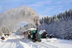 Winter in Cierny Balog