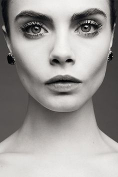 Cara Delevingne. Overly obsessed with her.