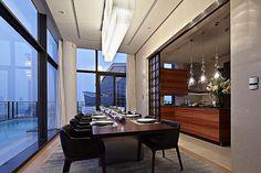 Duplex Penthouse in China by Kokaistudios 06