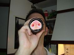 April Fool!  Picture of Coffee Mug Snout - turn your unsuspecting friends into pigs