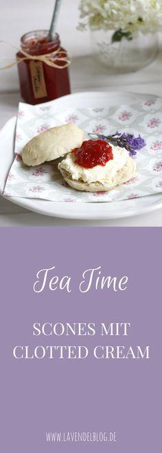 tea time scones mit clotted cream und erdbeerkonfit re inkl gewinnspiel brot br tchen usw. Black Bedroom Furniture Sets. Home Design Ideas