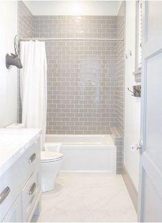 Remakable Guest Bathroom Makeover Ideas On A Budget - Bathroom Ideas Bathroom Renos, Budget Bathroom, Bathroom Layout, Bathroom Interior Design, Bathroom Renovations, Dyi Bathroom, Bathroom Cabinets, Master Bathrooms, Bathroom Mirrors