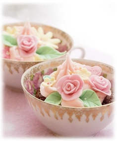 cupcakes for a special tea