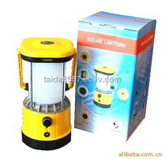 portable LED solar camping lantern with PATENT,CE and ROHS (SL-601) - China LED solar camping lantern, TAIDA