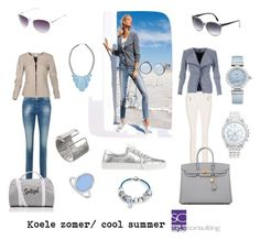 """Koele zomer/ cool summer color type."" By Margriet Roorda."