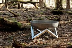 Steel Fire Pit YANARTAS Small  Contemporary Design by ArpeStudio