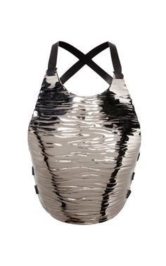 Chrome Breast Plate by Proenza Schouler for Preorder on Moda Operandi