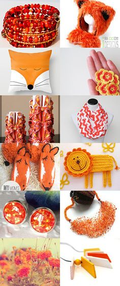 Orange you gorgeous by Anastasia Wiley on Etsy--Pinned with TreasuryPin.com