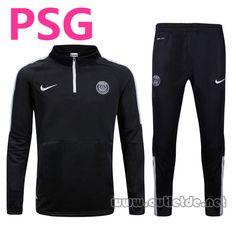 Site Officiel Survetement PSG 2015 2016 noir Pas Chere En Ligne