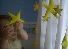 Felt stars how wonderful