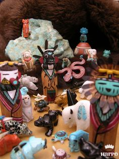 Fétishes by Harpo Bijoux © #nativeamerican #turquoise #fétishes #jewelry