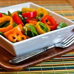 Kalyn's Kitchen®: Recipe for Arugula and Sweet Mini Pepper Salad