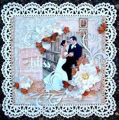 Wedded Bliss * Scrapbooking & Beyond * #weddingscrapbooks
