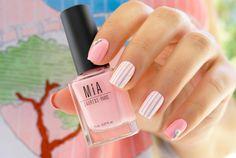 Tendencias de Primavera. Frost White y Ballerina Pink #NailArt #Manicure #NailPolishes #MIAis5Free