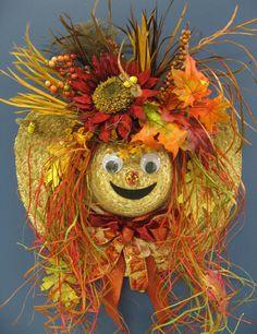 Fall Scarecrow that Geri made