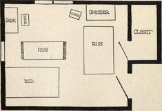 Arranging Your Bedroom So It Is Attractive And Con 264 Layout How To Arrange