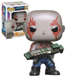 Funko POP! Marvel Guardians Of The Galaxy Vol 2 #200 Drax - New, Mint Condition. https://www.ebay.com.au/itm/232772026140 OR https://www.supportivepc.com #Funko #FunkoPop #Marvel #GuardiansOfTheGalaxy #Drax #Collectibles