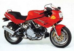 The 1996 MY Ducati 750SS Half Fairing sports an air-cooled, four-stroke, 748cc, 90-degree V-Twin desmodromic powerplant paired to a f...