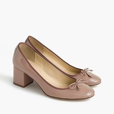 women's evie ballet heel in patent leather - women's footwear