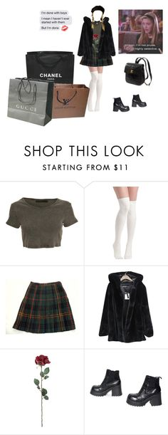 """""""cher horowitz"""" by wallowingwillow ❤ liked on Polyvore featuring Crafted, Jones New York, Chicnova Fashion, Kate Spade, Chanel, Louis Vuitton and Gucci"""