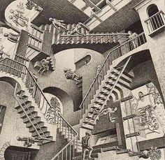 #Escher escadas