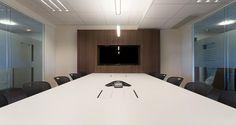 Meeting room into Heineken's offices in Rueil, France