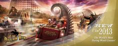 New In 2013 Outlaw Run Silver Dollar City  #Silverdollarcity #outlawrun #attractions