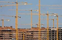 Un chantier immobilier à Sesena, dans Comprendre la crise espagnole en 5 questions